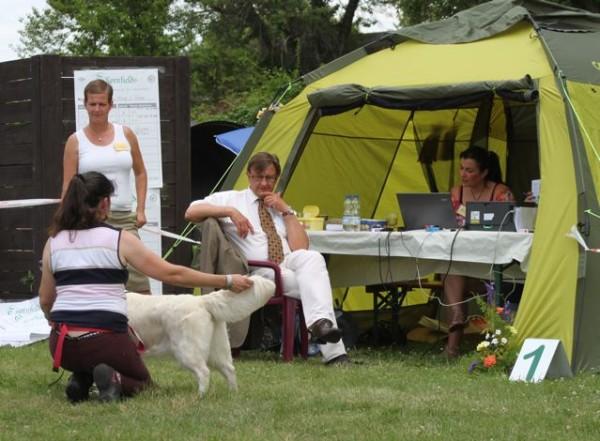 Helen Almey Dog Show Judge